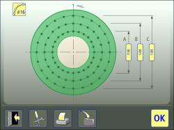 circular laser measurement