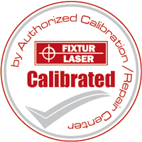Laser Alignment Calibration Certificate